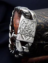 Homme Femme Chaînes & Bracelets Style Punk Personnalisé Simple Style Acier au titane Forme de Croix Bijoux Bijoux PourQuotidien