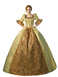 Steampunk®Georgian Victorian Princess Vintage Dress Ball Gown Reenactment Halloween Prom Dress