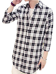 DMI™ Men's Lapel Plaids Casual Shirt(More Colors)