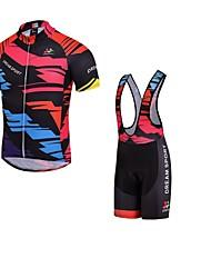 Sport Fahhrad/Radsport Oberteile Damen Langärmelige Atmungsaktiv / tragbar / Komfortabel Polyester / Terylen Klassisch Schwarz M / L / XL