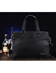 Men Cowhide Casual Tote / Laptop Bag