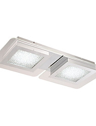 5 Flush Mount ,  Modern/Contemporary Chrome Feature for LED Glass Living Room / Bedroom / Study Room/Office