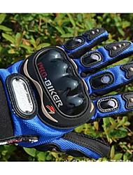 carreras de motos de todo pro-motorista refiere al verano guantes de equitación del jinete de la motocicleta semi dedo