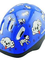 Kid's Bike Helmet 6 Vents Cycling Cycling / Recreational Cycling / Ice Skate EPS / PVC Blue