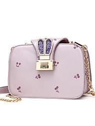 bolsa de color rosa / azul mujeres-casual-pvc-hombro / negro / 8 #
