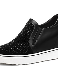Women's Sneakers Spring / Summer / Fall / Winter Creepers Glitter Athletic / Casual Platform Black / Gray Sneaker