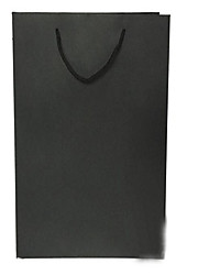 Availability Of Various  Of Professional Quality Portable Paper Bag Black Cardboard Gift A Pack Of Five Business