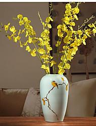 Hi-Q 1Pc Decorative Flowers  Dancing Lady Orchid Wedding Home Table Decoration Artificial Flowers
