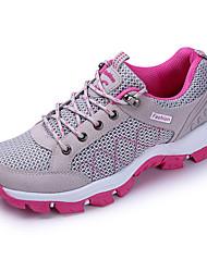 Для женщин-Для занятий спортом-Тюль-На плоской подошве-Удобная обувь-Кеды