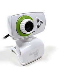 HD Desktop Computer Household Camera With Microphone Receiver
