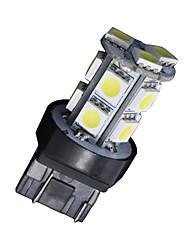4x xénon t20 blanc 7443 5050 13-SMD - queue de freinage à ampoule de stationnement 7444na