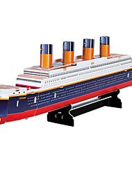 Educational 3D Model Puzzles Movie Titanic Ship DIY Toys 30 Pieces