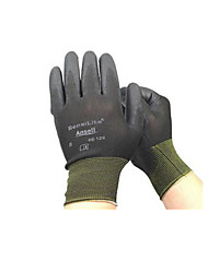 Lightweight Palm Coating Mechanical Protective Gloves  Non-disposable  Size 9  Two Pairs Packaged for Sale