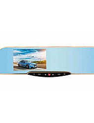 Ling HS850S Before And After The Recorder HD Wide-Angle Rearview Mirror Double Tape Parking Reversing Video Monitoring