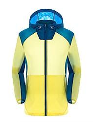 Men's Hiking Windbreaker Waterproof Windproof Ultraviolet Resistant Anti-Eradiation Wearable Antistatic Breathable Sweat-wicking Sun
