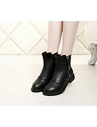 Damen-Stiefel-Lässig-Wildleder-Flacher Absatz-Modische Stiefel-