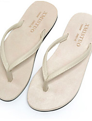 Unisex Slippers & Flip-Flops Spring Summer Comfort PVC Casual Flat Heel Others Black Red White Others