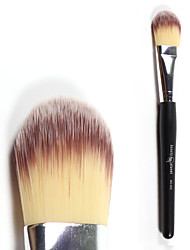 1 Foundation Brush Synthetic Hair Professional / Travel Wood Face Others