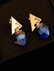 Earring Geometric Drop Earrings Jewelry Women Fashion Daily / Casual Alloy 1pc Gold