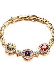 18K Gold Bracelet Fashion Marriage Jewelry Gift Boxes