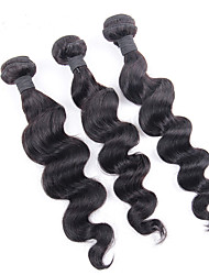 Best Quality Indian Virgin Hair Loose Wave 3pcs Unprocessed Human Hair Machine Weft Hair Weaves