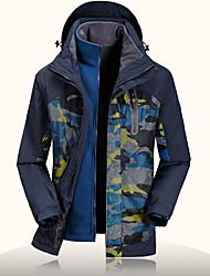 Randonnées Veste Softshell Homme Etanche / Vestimentaire / Pare-vent / Anti-transpiration / Garder au chaud / Cap détachableAutomne /