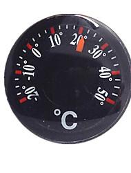 (Billete de diez una vez vendida) de plástico termómetro de aceite de inyección