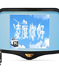 Lingdu HS995 Tachograph Dual Lens Reversing Camera HD Night Vision Rearview Mirror Navigation One Machine