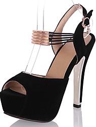 Women's Sandals Spring / Summer / Fall Peep Toe / Platform / Sandals  Party & Evening / Dress / Casual Stiletto