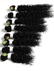 8-12inch 8 pcs /lot Brazilian deep curly Virgin Hair Brazilian Virgin Hair kinky curly  Hair Weave Bundles human hair