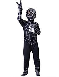Costumes zentai / Costumes de Cosplay Superhéros / Araignée Fête / Célébration Déguisement Halloween Noir Mosaïque / Imprimé