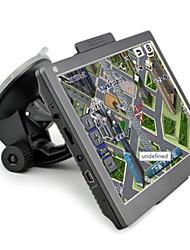 7-дюймовый HD двухъядерные GPS 8gb портативный автомобиль интегрированной навигационной