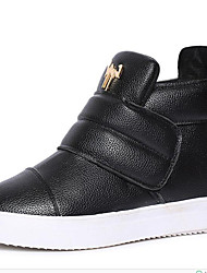 Women's Sneakers Spring / Fall / Winter Creepers Leatherette Outdoor / Casual Platform Buckle Black / Red Others