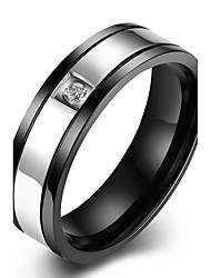 Ring Non Stone Party Daily Casual Jewelry Stainless Steel Couples Ring 1pc