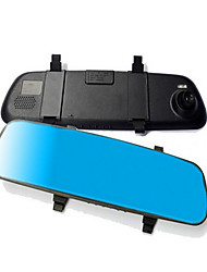 Blue Mirror Mirror HD 1080P Driving Recorder Night Vision Wide Angle