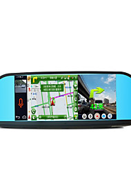 Mobile Internet 8 Inch Rearview Mirror Tachograph Iverson Intelligent Navigation Integrated Machine