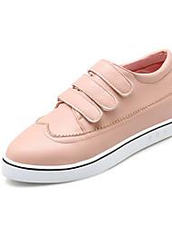 Women's Flats Fall / Winter Flats PU Outdoor / Dress / Casual Flat Heel Others Black / Blue / Pink / Red / Beige Others
