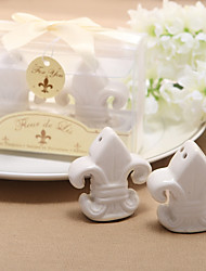 Recipient Gifts Fleur de Lis Salt and Pepper Shakers Kitchen Wedding Favors BETER Gifts Love Birds