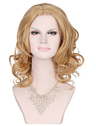 Synthetic Hair Wigs for Women Sale Protea Blonde Wig  Long Wavy Curly Female Wig Synthetic Wigs Hair Style