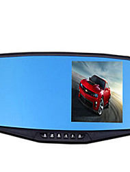 Rear View Mirror Drive Recorder 1080P HD 4.3 Blue Mirror Wide-Angle Mirror Car Night Vision