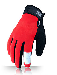 Activity/ Sports Gloves Cycling/Bike Unisex Full-finger Gloves Anti-skidding / Keep Warm / Wearproof / Breathable