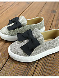 Girl's Boat Shoes Fall Flats Canvas Casual Flat Heel Others Blue Gray Others
