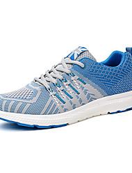 Men's Sneakers Spring / Fall Comfort Fabric Casual Flat Heel  Black / Blue / Green / Red Sneaker