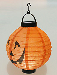 Halloween Props Paper Cosplay Accessories Halloween Carnival New Year Spider Pumpkin Printing Glow Lantern