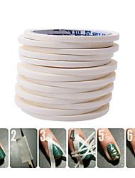 5pcs Kits Nail Art Prego Kit Art Ferramenta de Manicure maquiagem Cosméticos DIY Nail Art
