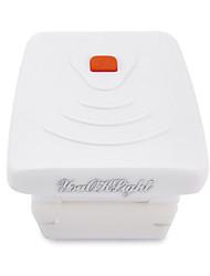 3 LED-Sensor Clip-on-Kappe Hut Licht wiederaufladbare Scheinwerfer Scheinwerfer Mini-Lampe Camping Wandern fishingwhite / schwarz)