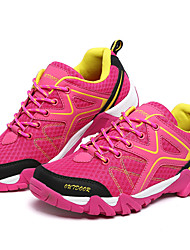 Women's Sneakers Spring / Fall / Winter Comfort / Round Toe Tulle Outdoor / Athletic Low Heel Walking / Hiking / Trail