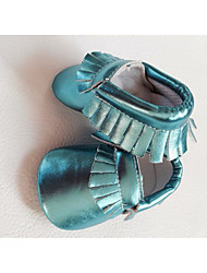 Casual Flat Heel Others Blue / Brown / Pink / Red / Silver / Gold