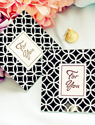 2pcs/box Glass Photo Coaster with Unique Patterns Beter Gifts® Life Style  9 x 9 x 0.5 cm/pcs