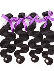 Protea Hair Products Indian Body Wave 4PCS 7A Unprocessed Indian Virgin Hair 100% Human Hair Weave